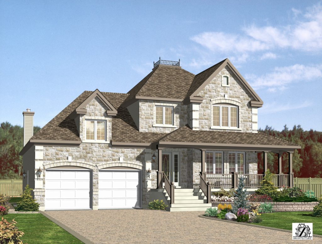 Tradition 1 lucarne avant 1024x778 - General contractor in Laval