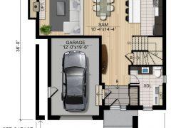 plancher Olympia RDC 240x180 - Olympia